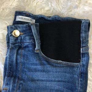"""7e6af90c46823 Good American Jeans - Good American """"Honeymoon Mid Rise"""" Maternity Jeans"""